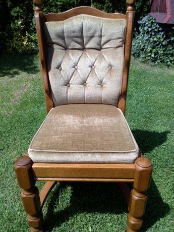sprzedam krzesła dębowe