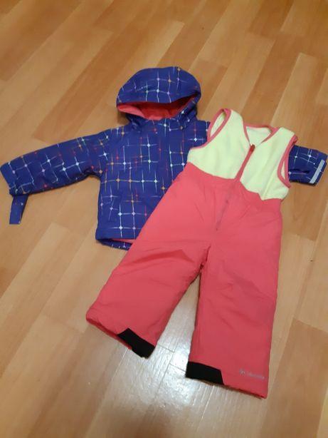 Columbia зимний костюм для девочки р.2Т рост