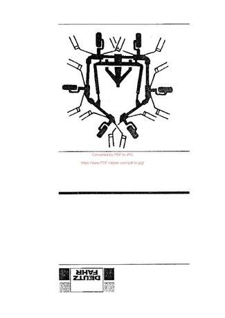 Katalog części przetrząsacz DEUTZ FAHR KH 3.68
