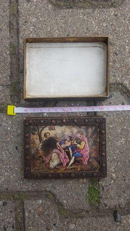 Stare mosiężne pudełko