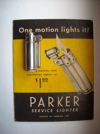 Зажигалка бензиновая  Parкer Service США