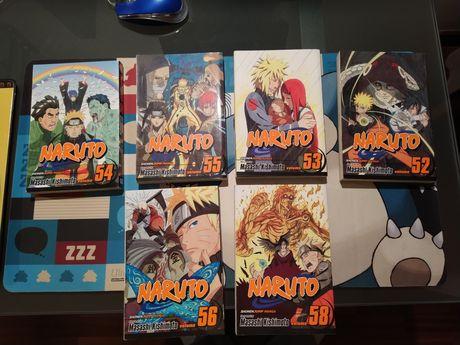 Mangas Naruto (52, 53, 54, 55, 56, 57)