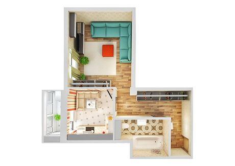 1 - комнатная квартира 43м2 м-н Таврический 4А Херсон