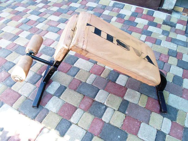 Скамья для пресса + ролик для пресса в подарок