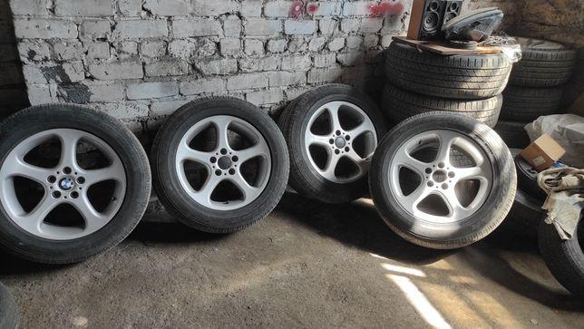 Диски BMW е53 r18 5 120 колеса в сборе borbet
