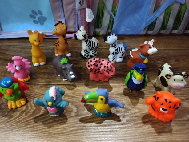 Маленькие человечки, фигурки,животные Little People Fisher-Price,фишер