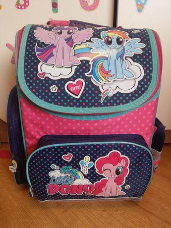 TORNISTER plecak szkolny do szkoły kucyki Pony Majewski