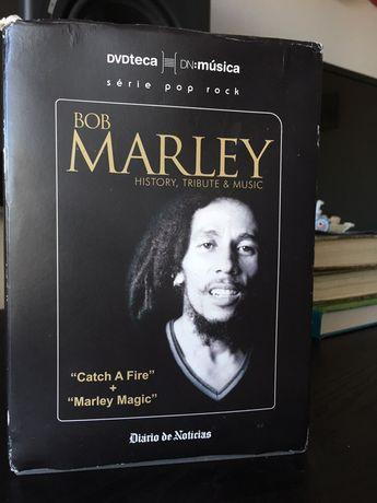 2 DVD Bob Marley History, Tribute & Music