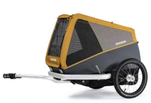 Przyczepka rowerowa dla psa CROOZER Dog Peppa