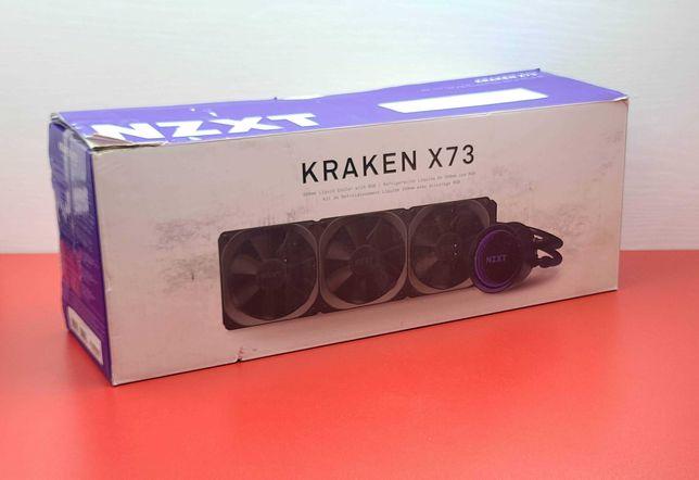 Система Жидкостного Охлаждения NZXT Kraken X73 360mm — AMD / Intel СВО