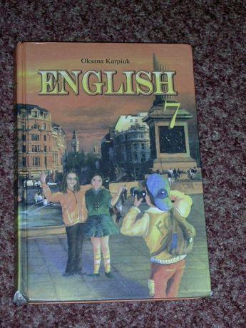 Продам учебники англ. языка 7,8 класс