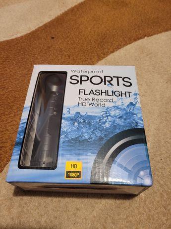 Latarka/Kamera HD 1080p mini sport dv