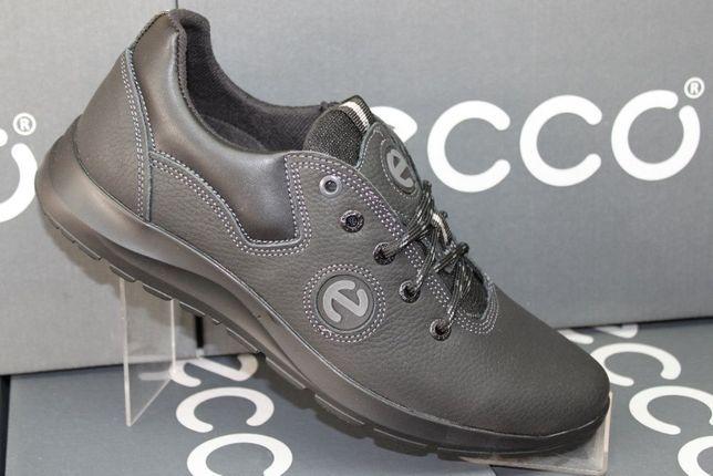 ECCO - кожаные кроссовки-кеды-туфли (код:6-2кожа)