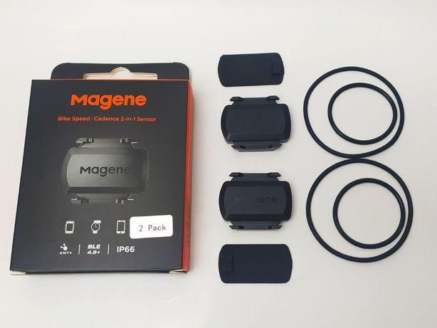 Magene S3+ czujnik prędkości / kadencji ANT+ Bluetooth 4.0+ 2x Zwift