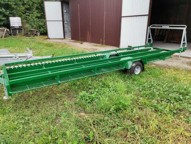 Sprzedam wózek sadowniczy na 5 palet samorozładowczy