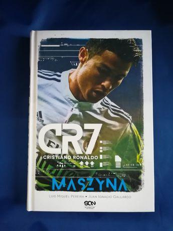 Nowa!!! Książka CR7. Cristiano Ronaldo. Maszyna (okładka twarda)