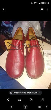 Buty skórzane nowe r41