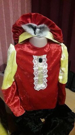 новогодние костюмы - принц или паж
