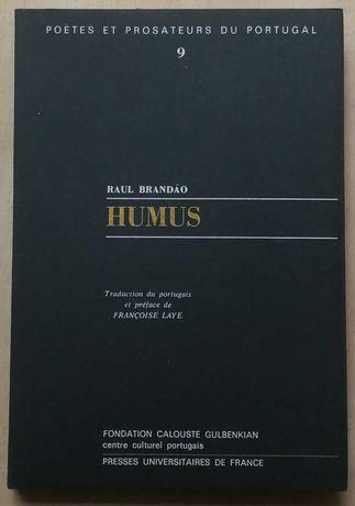 humus, raul brandão, francoise laye, poetes et prosateurs du portugal