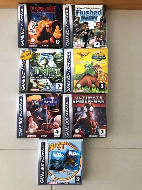 Jogos Game Boy Advance