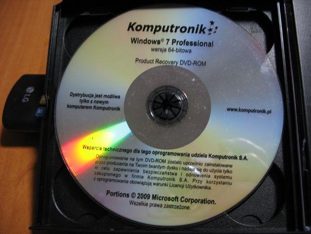 Płyta instalacyjna windows 7 Professjonal 64 Bit