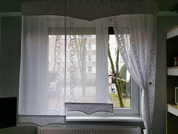 Firanki do okna panele