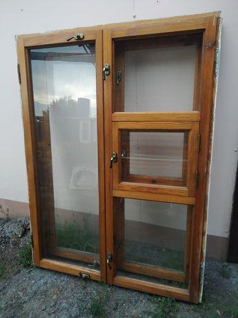 Окна деревянные в хорошем состоянии