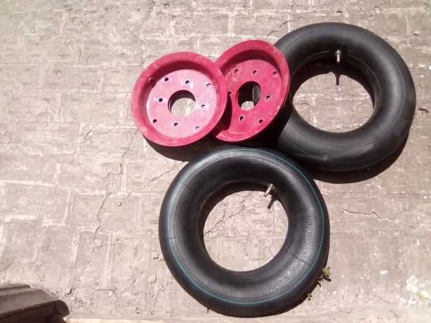 Диски колес 4,00 - 8 и камеры