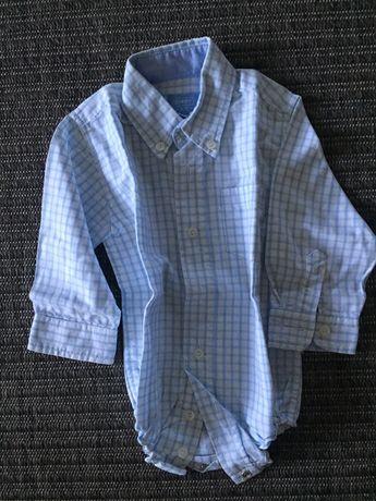 Body camisa ZIPPY tamanho 9/12 novo