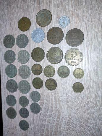 Монеты СССР 60-80 годов