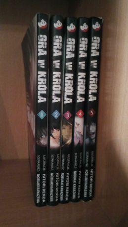 Manga Gra w Króla komplet