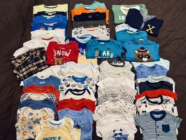 140 sztuk ubrania chlopiece od 62-86