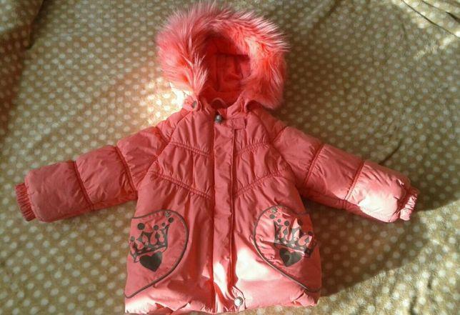 Зимний комплект Lenne (куртка и полукомбинезон), размер 80+6