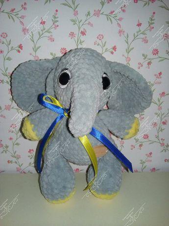 Плюшевий слоник слон іграшка игрушка плюш