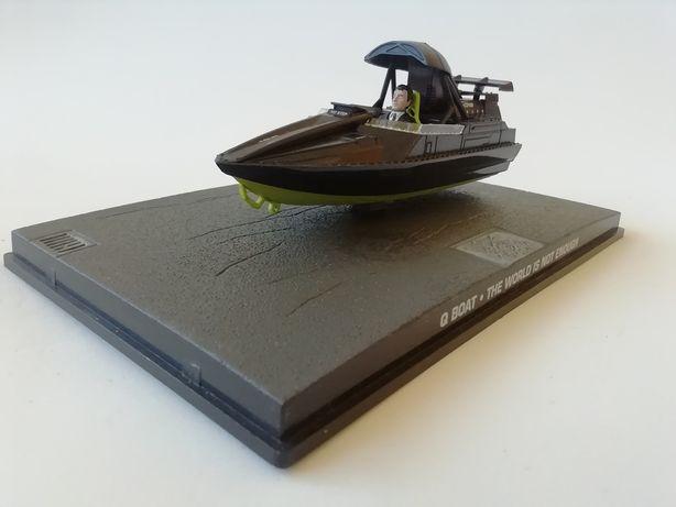 1/43 Q Boat - James Bond [007] (Miniatura - Eaglemoss)