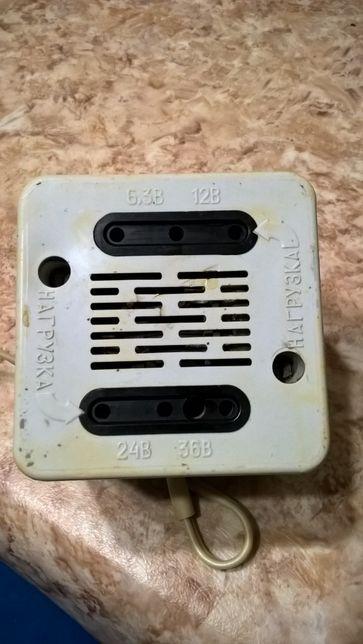 Трансформатор с 220 вольт на 6.3 , 12 , 24 и 36 вольт .