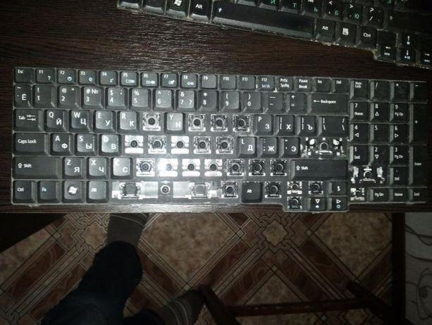 Клавиатура Acer поклавишно