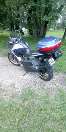 HONDA TRANSALP 700  Od motocyklisty