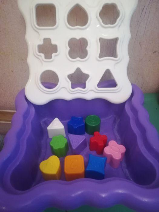 Развивающая игрушка сортер лабиринт развитие моторика формы цифры Кривой Рог - изображение 1