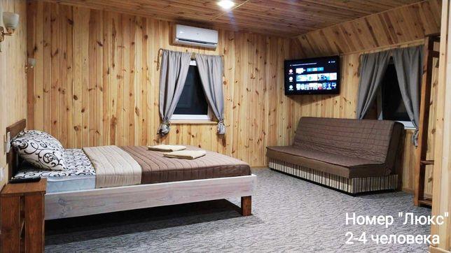 Номера,комнаты для отдыха на Дальней Косе,в заповедной зоне