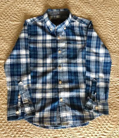 Camisa flanela como nova 4