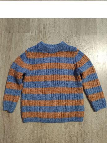 Теплый свитер Zara 3- 4 года.Новый