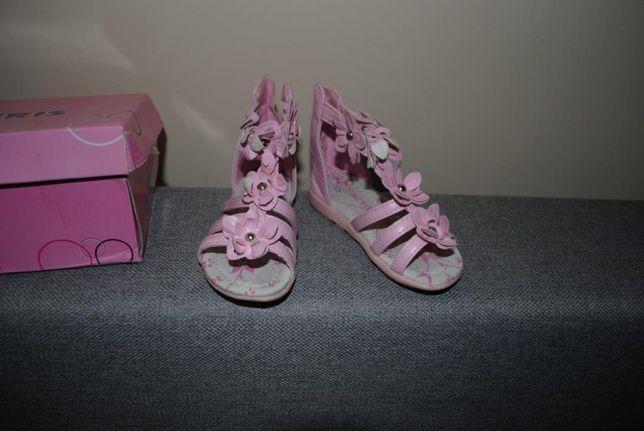 56-> NOWE sandałki sandały rzymianki ACRIS r.22 13cm