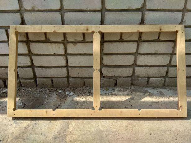 Деревянные кассеты для изготовления резиновой плитки