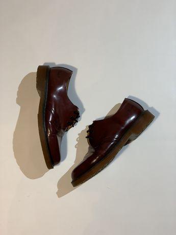 Мужские кожаные туфли броги Dr Martens doc'doc 1460 1461 england 41