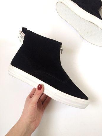Pull&bear ботинки зимние, утепленные, сапоги zara bershka