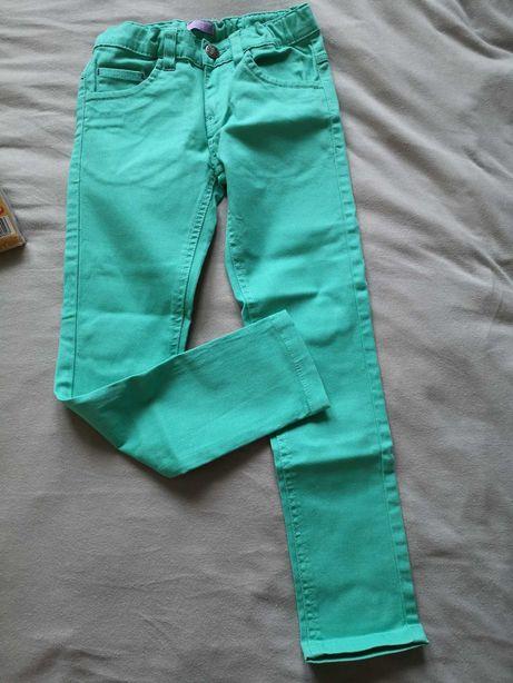 Nowe spodnie rurki morskie r. 122