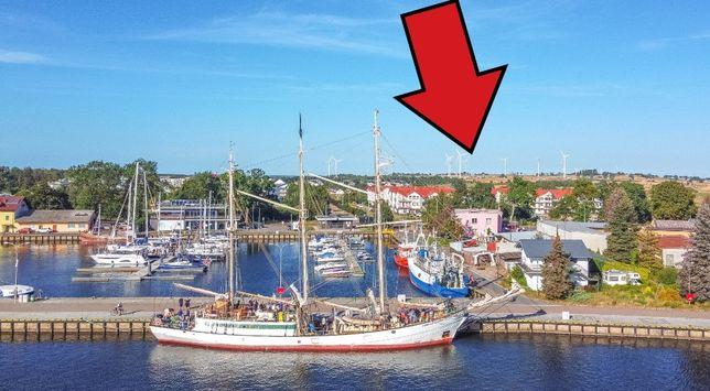 Nowe apartamenty nad morzem z restauracją i widokiem na port! Darłówko