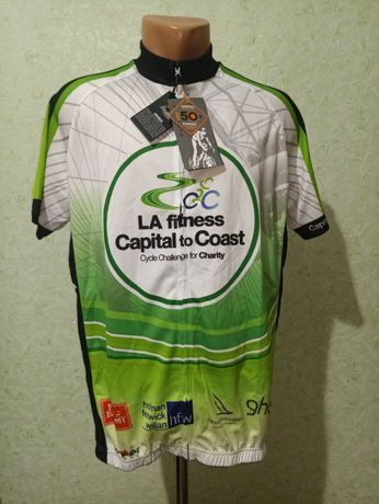 Велофутболка новая Funkier Castelli Cuba kellys размер ххл вело джерси