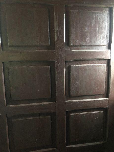 Drzwi garażowe - 2 skrzydła - filunkowe